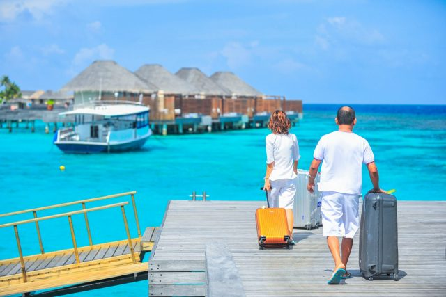 To show that you should set aside funds to treat yourself, such as a vacation and enjoy life.